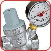 Картинка. Установка редуктора давления воды в квартире, коттедже или офисе